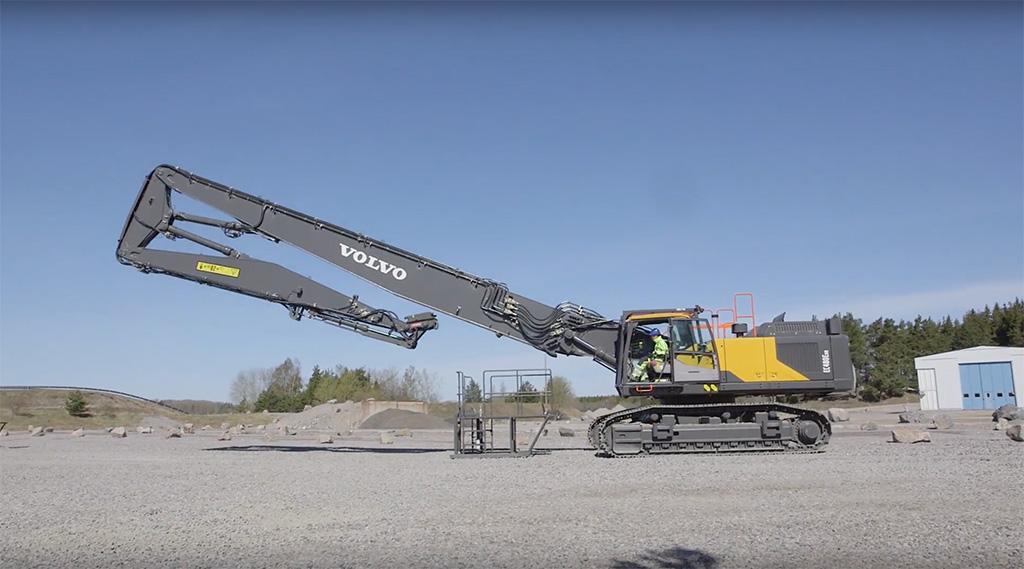 Volvo High Reach Excavators