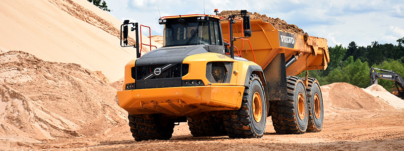Volvo Articulated Truck