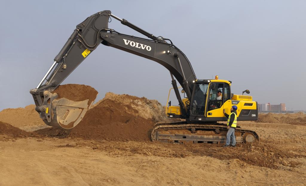 Volvo EC300D Crawler Excavator