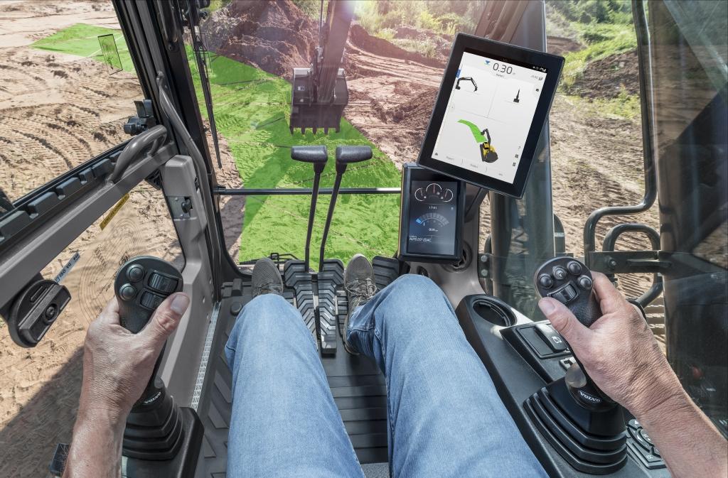 Volvo Excavator Dig Assist Machine Control System