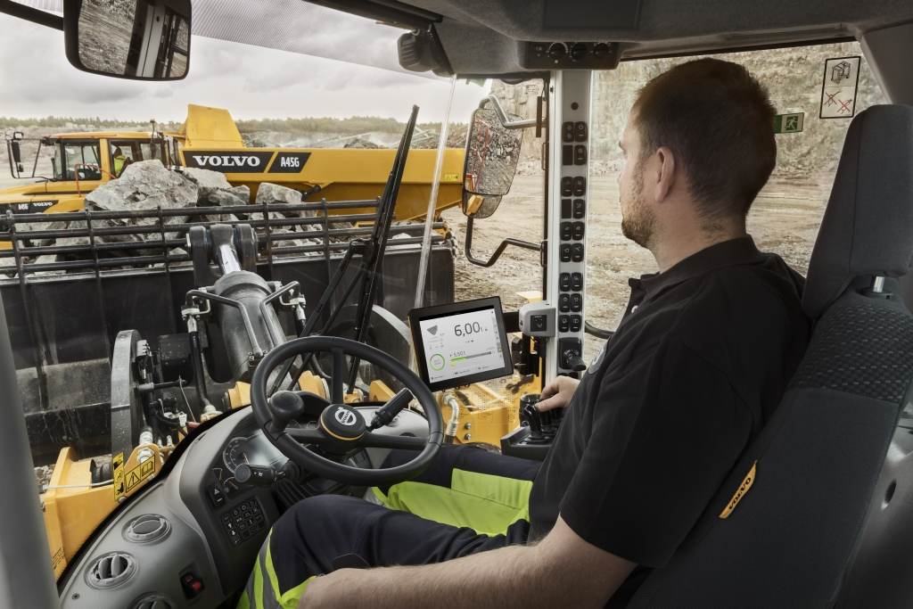 Volvo Front End Loader Load Assist Machine Control System