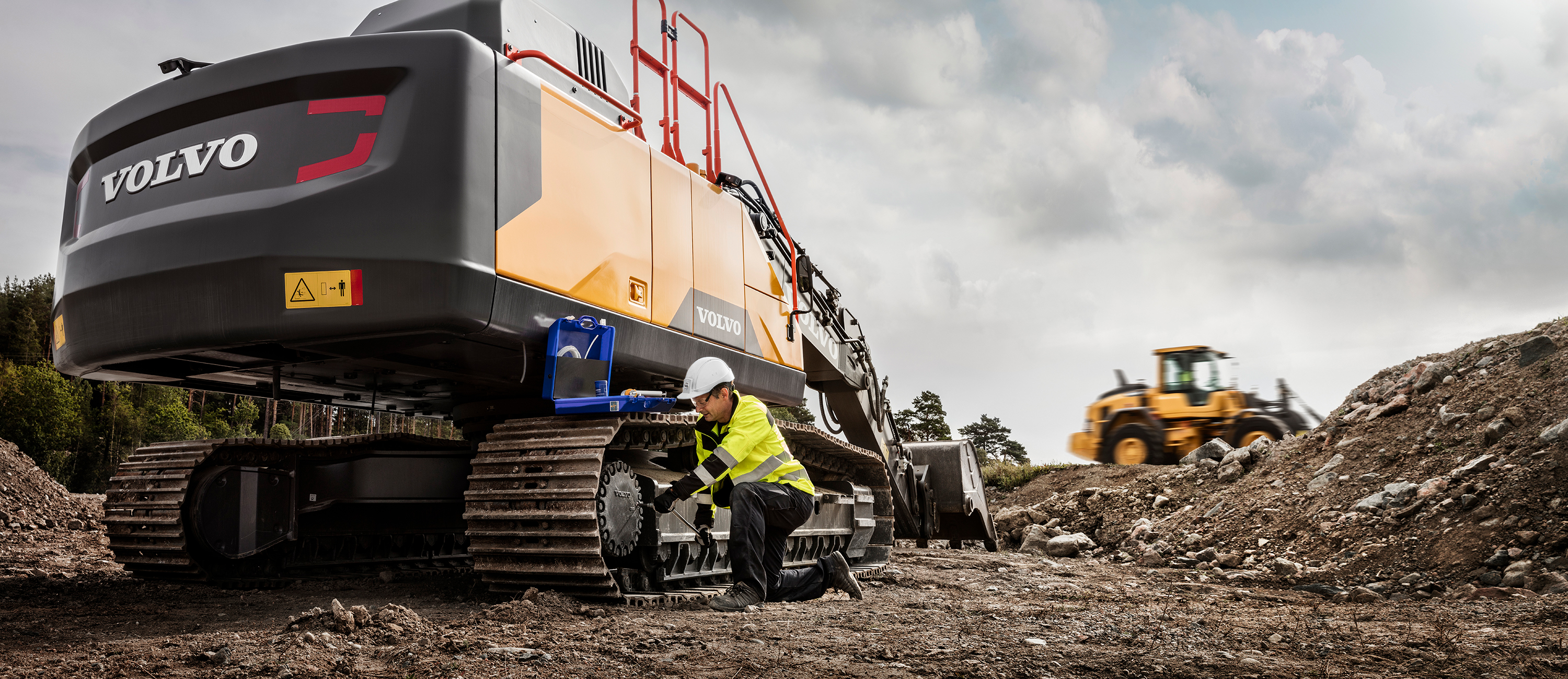 Readying Your Volvo Excavator for Spring