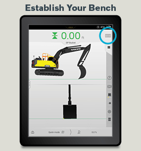 How to use Grade Control for Excavators — Volvo Dig Assist