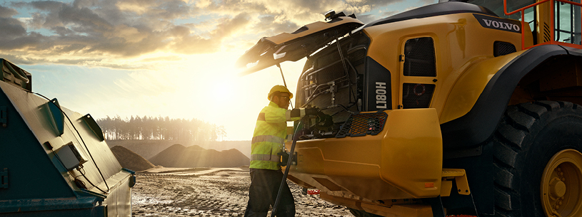 Volvo Construction Equipment Fuel Efficiency