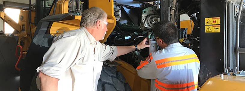 construction equipment maintenance